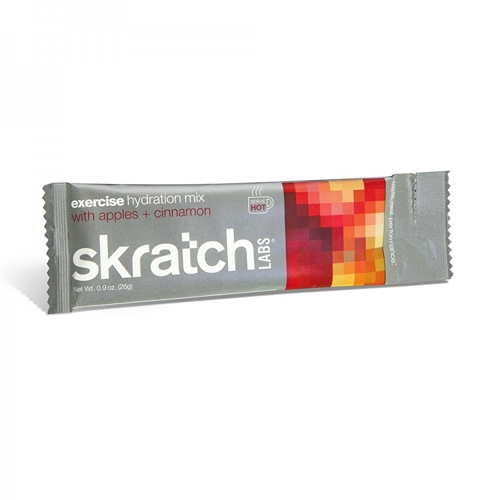 Skratch Exercise Hydration Mix Single Serving Apples+Cinnamon