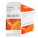 Skratch Fruit Drops Case of 10 Orange 50g