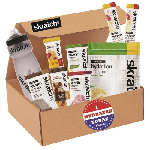Skratch Labs Sampler Box With Bottle