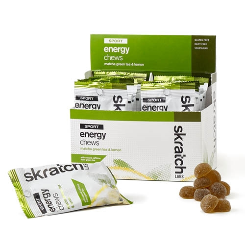 Skratch Sport Energy Chew (10) Matcha Green Tea & Lemon 50g