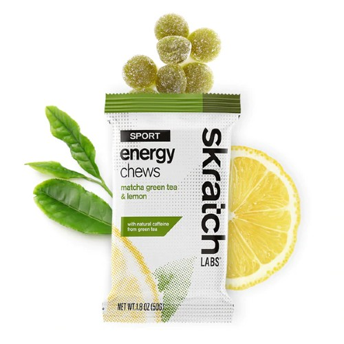 Skratch Sport Energy Chews Matcha Green Tea & Lemon 50g