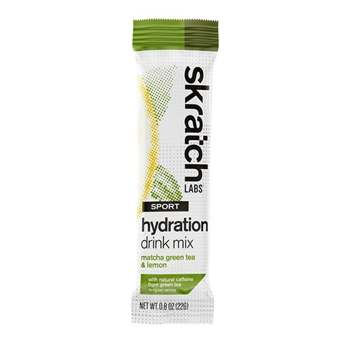 Skratch Sport Hydration Mix Single Serving Matcha & Lemons