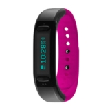 Soleus Go! Fitness Band Unisex Black/Pink