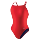 Speedo Core Flyback (Y) Female Youth Red/Navy