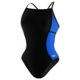 Speedo Sprint Splice Free Back Women's Black/Sapphire