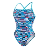 Speedo Thin Strap Clip Back Women's Multi