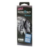 SpiderTech Black (6pc) Pre-Cut X Kinesiology Tape