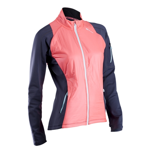 Sugoi Alpha Hybrid Jacket Women's Electric Salmon