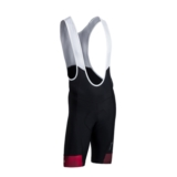 "Sugoi Evolution Bib Short 9"" Men's Red/Mountain Print"