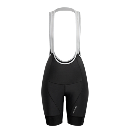 "Sugoi Evolution Bib Short 9"" Women's Black"