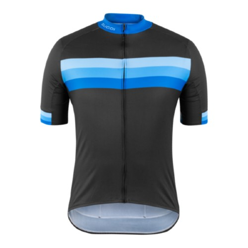 Sugoi Evolution Zap Jersey Men's Blue Stripes