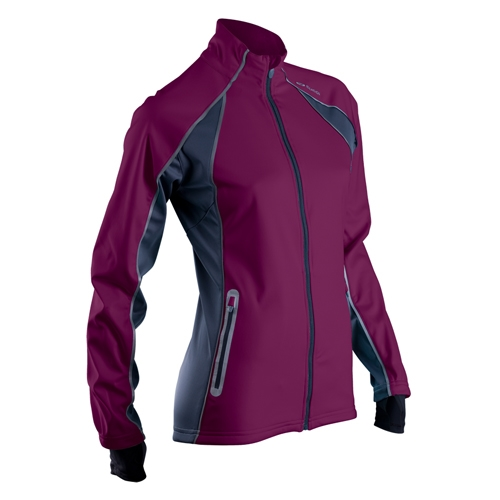 Sugoi Firewall 180 Jacket Women S Boysenberry Running