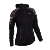 Sugoi Firewall 180 Jacket Women's Black/White Stripe