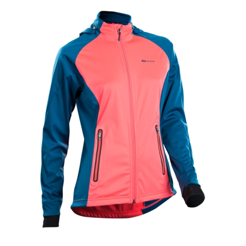 Sugoi Firewall 180 Jacket Women's Electric Salmon