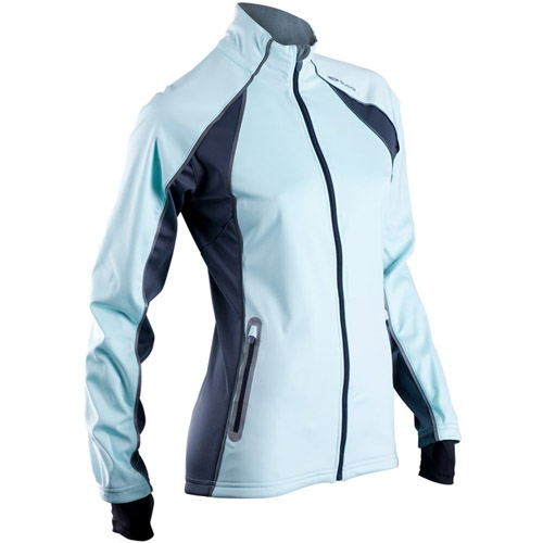 Sugoi Firewall 180 Jacket Women S Ice Blue Running Free