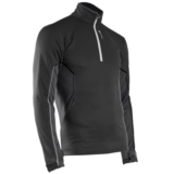 Sugoi Firewall 180 Zip Men's Black/Gunmetal