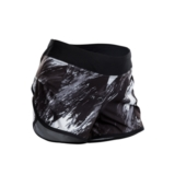 "Sugoi Fusion 4"" Short Women's Black/Brush Print"