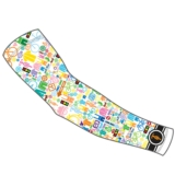 Sugoi I Heart Bikes Arm Sleeve Women's White