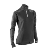 Sugoi Linear MidZero Zip Women's Black/Gunmetal