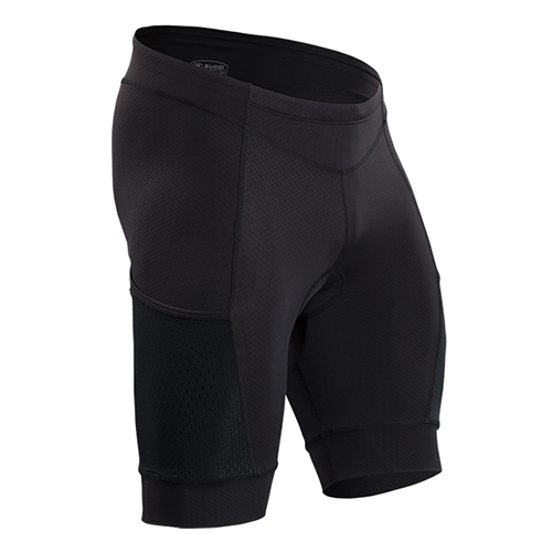 Sugoi Piston 200 Tri Pkt Short Men's Black
