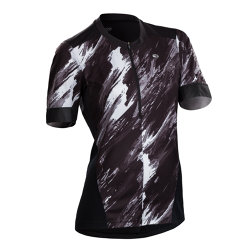 Sugoi Pulse Jersey Women's Black/Brush Print