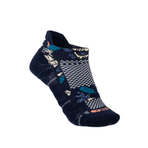 Sugoi RSR Tab Socks Unisex Navy Monstera