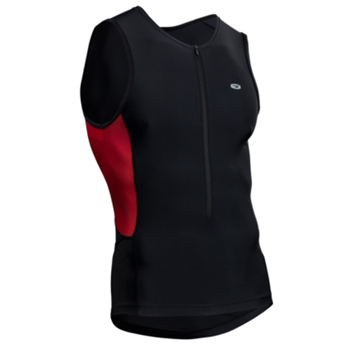 Sugoi Rpm Tri Tank Men's Red Dahlia/Mountain