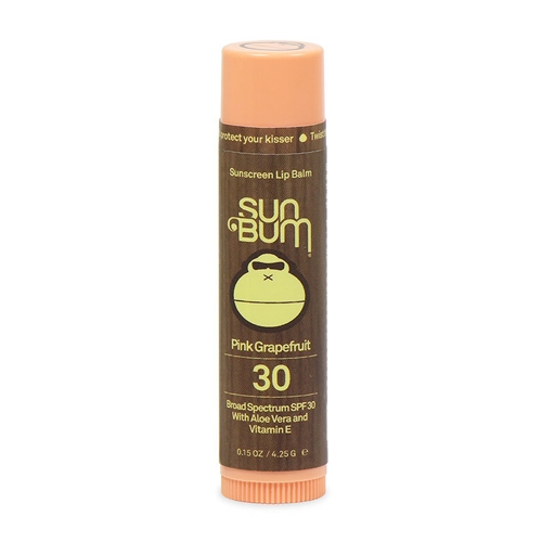 Sun Bum Sunscreen Lip Balm SPF 30 - Pink Grapefruit - Sun Bum Style # 25-46029