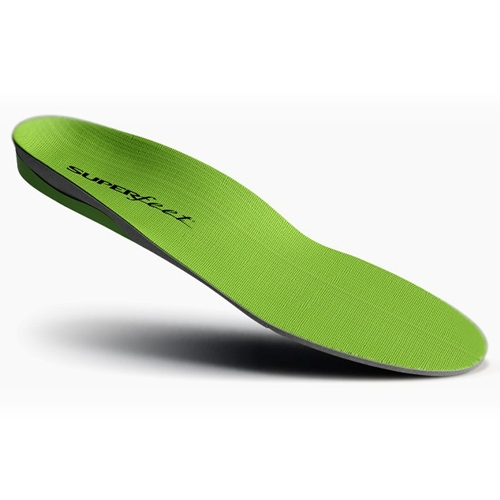 Superfeet green heel drop