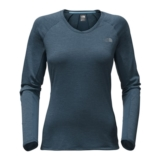 TNF Ambition L/S Women's Ink Blue Heather
