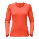 TNF Ambition L/S Women's Fire Brick Red Heather