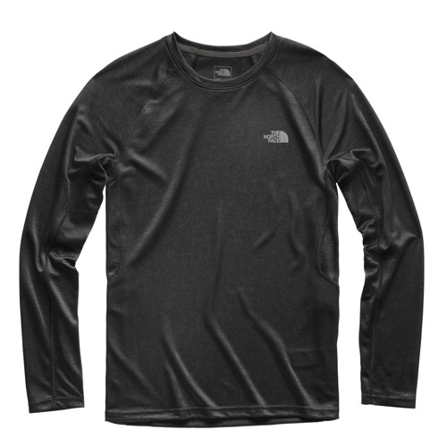 TNF Ambition L/S Men's Black Heather