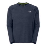TNF Ambition Long Sleeve Shirt Men's Cosmic Blue Heather