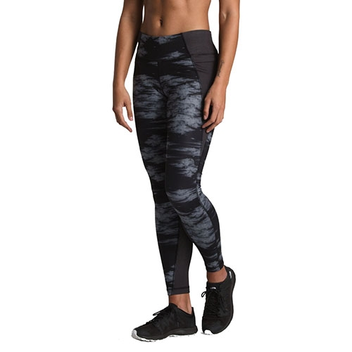 TNF Ambition Mid-Rise Tight Women's TNF Black Nebula Print
