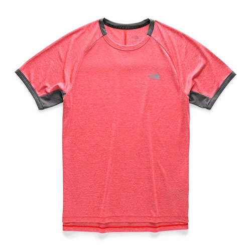 TNF Ambition SS Men's Fiery Red Heather