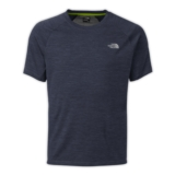 TNF Ambition S/S Shirt Men's Cosmic Blue Heather