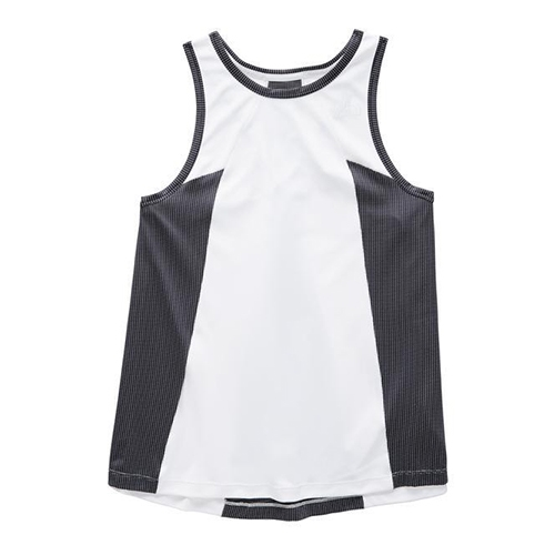 TNF Ambition Tank Women's TNF White Heather - The North Face Style # NF0A3O1T.PF3 S19