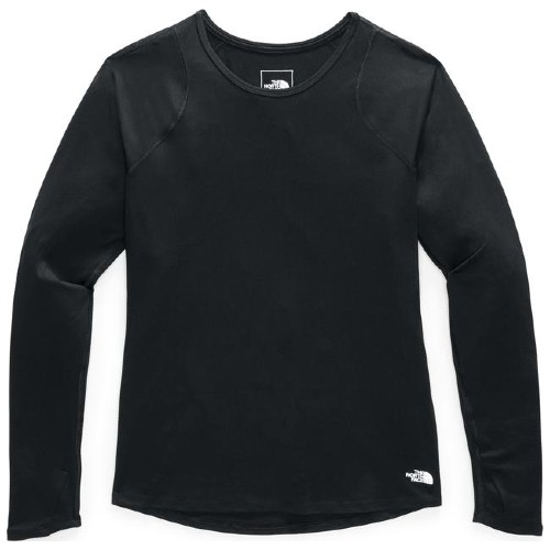 TNF Essential L/S Women's TNF Black