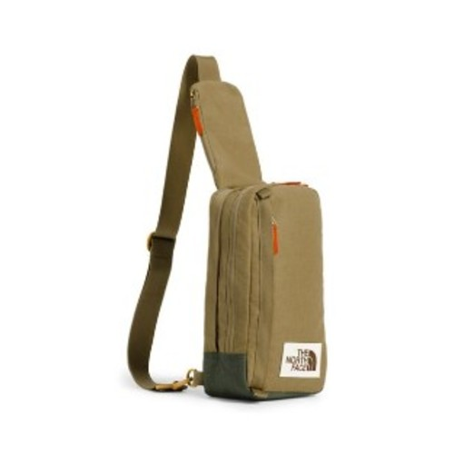 TNF Face Field Bag Unisex British Khaki Light