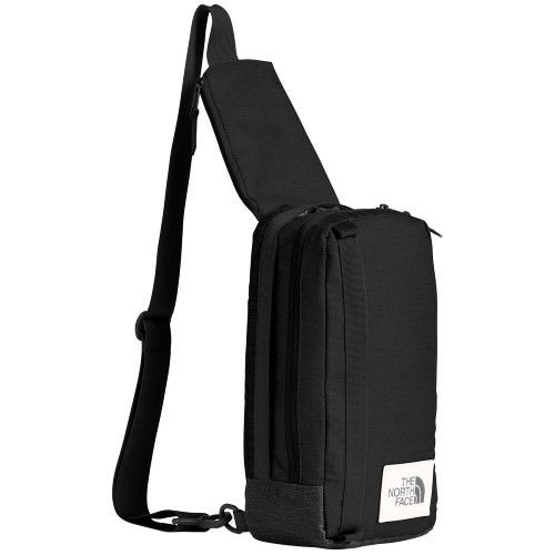 TNF Face Field Bag Unisex TNF Black Heather