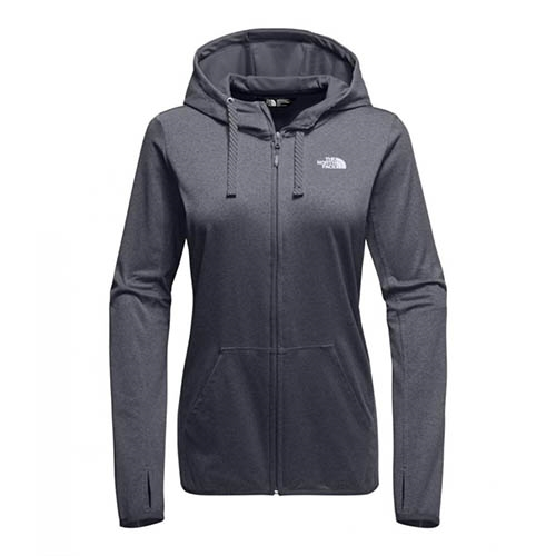 TNF Fave Lite LFC Full Zip Women's TNF Dark Grey Heather