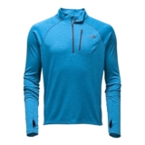 TNF Impulse Active 1/4 Zip Men's Blue Aster Heather/Shady