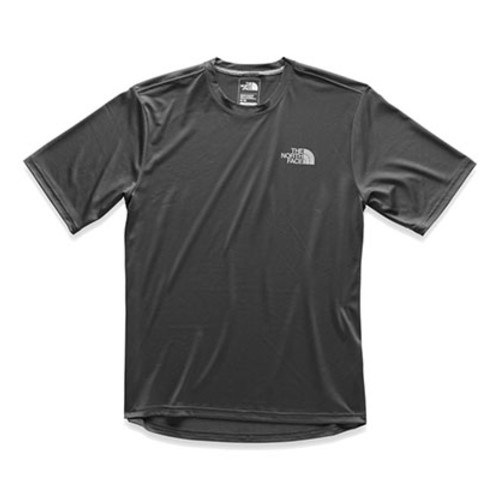 TNF LFC Reaxion S/S Crew Men's TNF Black/Asphalt Grey
