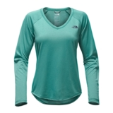 TNF L/S Reaxion Amp Tee Women's Bristal Blue Heather