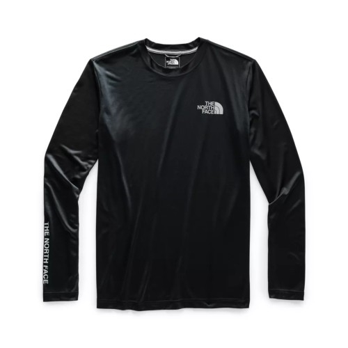 TNF L/S Reaxion Graphic Tee Men's TNF Black