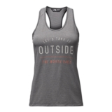 TNF Ma Mesh Play Hard Tank Women's Black Heather