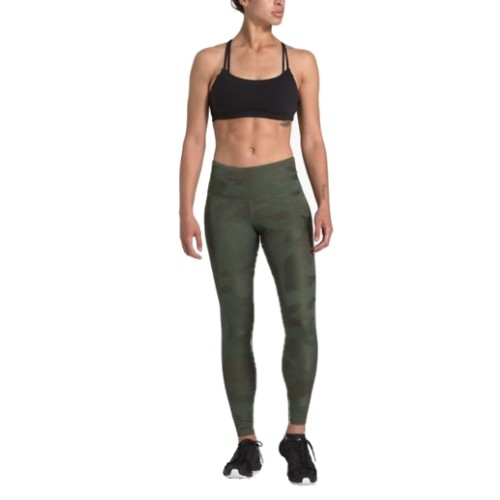 TNF Motivation High-Rise Tight Women's New Taupe Green Camo