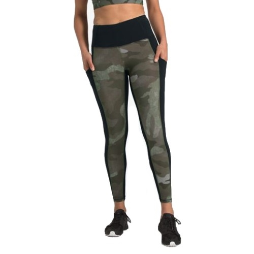 TNF Motivation PKT 7/8 Tight Women's New Taupe Green Camo
