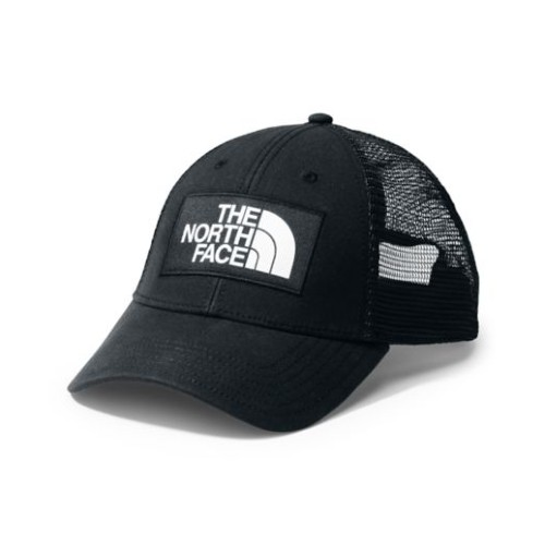 TNF Mudder Trucker Hat Unisex TNF Black/Black/White