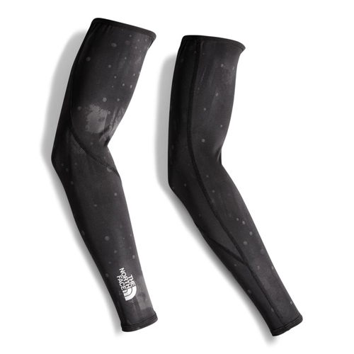 TNF No Hands Arm Warmers Unisex Black Reflective